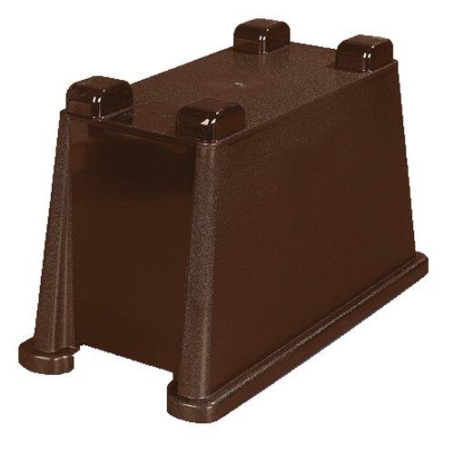 Carlisle 1086869 Dark Brown Polypropylene TrimLine Single Base ()