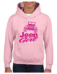 Acacia Jeep Girl Unisex Hoodie For Girls and Boys Youth Sweatshirt