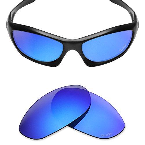Mryok XELD Replacement Lenses for Oakley Monster Dog - Desire Blue (Dog Monster Polarized)