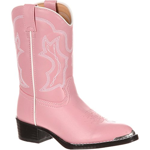 Cowgirl Pink - Durango Kids BT858 Lil' 8 Inch,Dusty