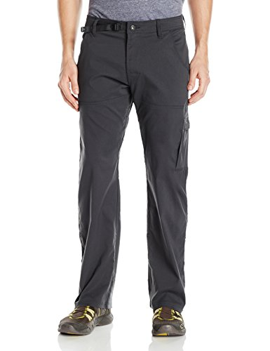 prAna Men's Stretch Zion Inseam Pants, Charcoal, Size 36