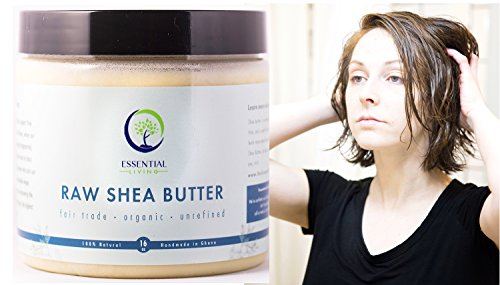 Shea Butter Hand Care (1 Pound Shea Butter: Raw - Organic, Unrefined, Fair Trade Shea Butter for Lotion, Soap, Body Wash, Hand Cream and Baby Eczema Moisture Therapy)