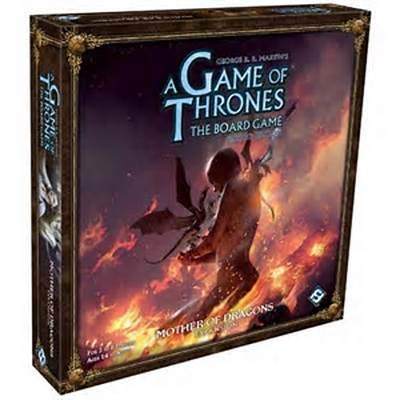 Fantasy Flight Games A Game of Thrones Board Game: Mother of Dragons Expansion (Game Thrones Dragon)