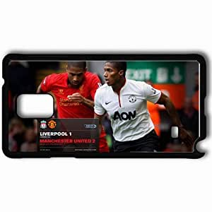 Personalized Samsung Note 4 Cell phone Case/Cover Skin 2013 latest antonio valencia x Black by mcsharks