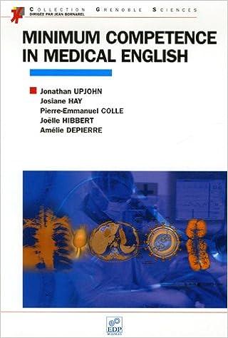 Livres gratuits en ligne Minimum competence in medical english pdf ebook