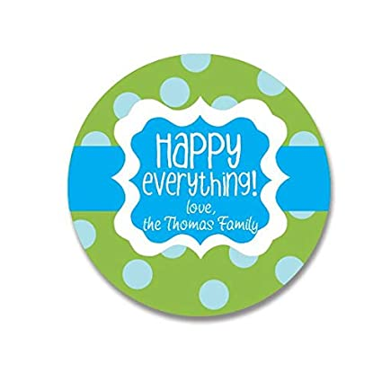 Image Unavailable Not Available For Color Birthday Gift Stickers Happy Everything Celebration Personalized