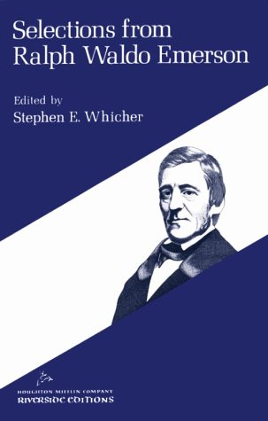 Selections from Ralph Waldo Emerson (Riverside Editions, A13)