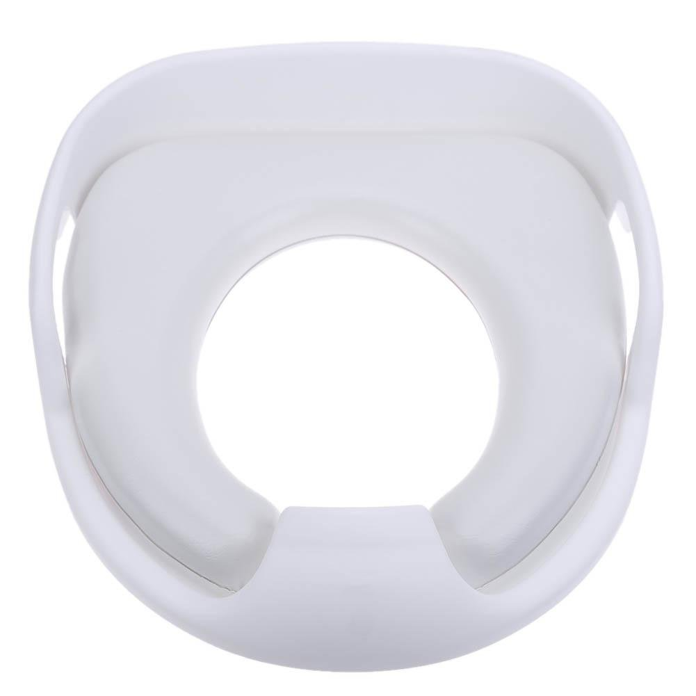 Whitelotous Children Toilet Seat Unisex Baby Toilet Cover Soft Cushion 12*4inches