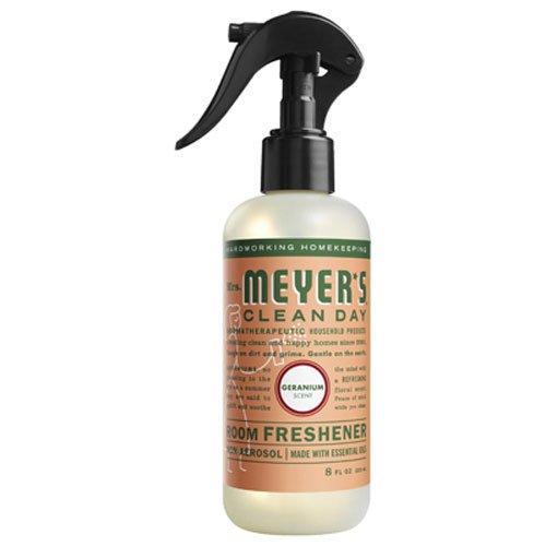 MRS MEYERS Room Freshener, Geranium, 8 Fluid Ounce