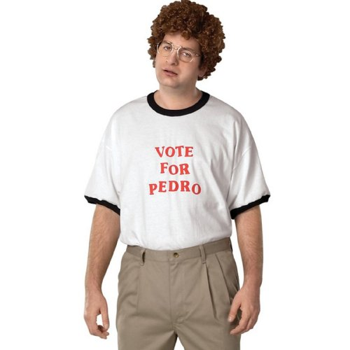 Rubie's Costume Napoleon Dynamite Vote for Pedro Accessory Kit Size: Large
