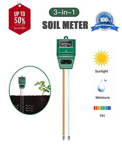 AKEfit 3 in 1 Soil pH Meter