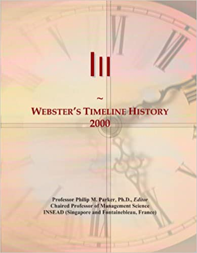 Book Iii: Webster's Timeline History, 2000