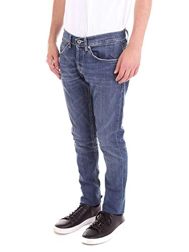 Jeans Blu Dondup Cotone Up232ds050p06gblue Uomo 18pTx