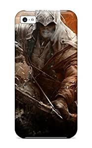 TYH - Iphone 4/4s Case Cover Skin : Premium High Quality Assassins Creed 3 Connor Case ending phone case
