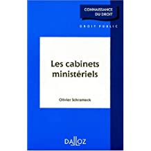CABINETS MINISTERIELS 1ERE EDITION