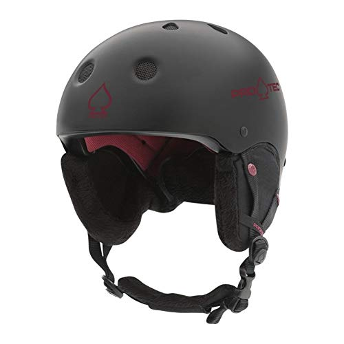 (Pro-Tec Classic Certified Snow Helmet (Matte Black, Large))