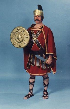 [Deluxe Trojan Warrior Costume] (Trojan Man Costumes)