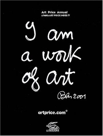 - 4124GRBPQ1L - Art Price Annual 2001(formerly ADEC) (ADEC INTERNATIONAL ART PRICE ANNUAL)