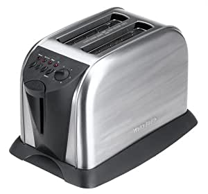 West Bend 2-Slice Toaster, Stainless Steel