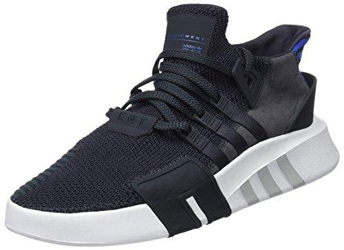 adidas Herren EQT Bask ADV Fitnessschuhe, Schwarz, Unknown Grau (Carbon/Carbon/Reauni 000)