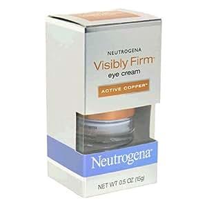 Neutrogena Visibly Firm Eye Cream, Active Copper, 0.5 Ounce