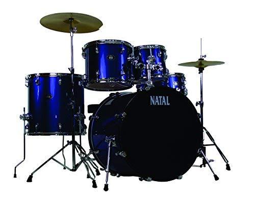 素晴らしい外見 Natal Natal Drums DNA 5 5 Drum Set Blue (K-DN-UF22-BL) Blue [並行輸入品] B07MP5BJLT, CARPARTS Web Store:4a4e3082 --- digitalmantraa.com