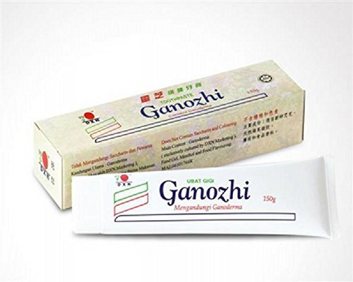 2 Box DXN Ganozhi Toothpaste with Ganoderma ( Each box 150g ) : Natural Teeth Cleaning Remedy for Healthy Fresh Breath and Brighten Every - Toothpaste For Scratches