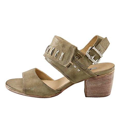MANAS-Design Marken-Sandalette, schlamm Gr. 37