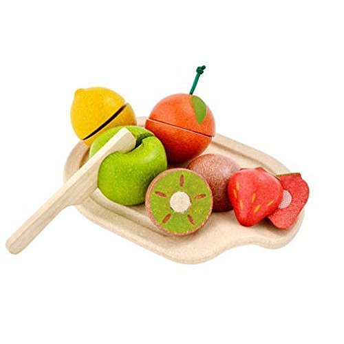 Plan Toys Activity Assorted Fruit Playset (Plan Toys Dollhouse Kitchen compare prices)