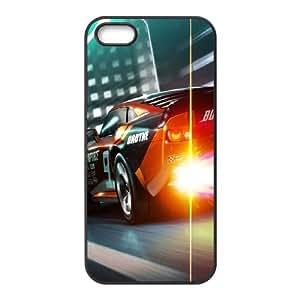 Ridge Racer funda iPhone 4 4S caja funda del teléfono celular del teléfono celular negro cubierta de la caja funda EOKXLKNBC12692