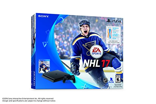 Sony PlayStation 4 Slim 500GB Console - NHL 17 Bundle