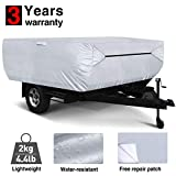 RVMasking Pop Up / Folding Camper Cover, Fits 8' - 10' Trailers