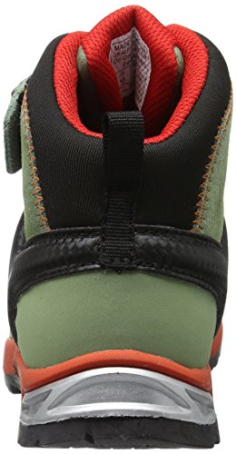 Rise Green Player Jr Shoes Oil 5871 Green Mid GTX Papavero Unisex Alp High Hiking Salewa Kids' qRw8IO