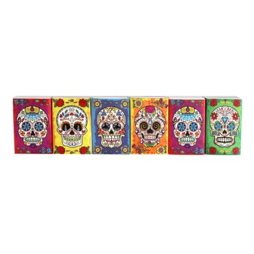 Mini Matchbook Set of 6 Images (DAY OF THE DEAD)