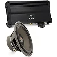 pkg FPP-1000 - Focal Monoblock 500W RMS Class A/B Power Performance Series Amplifier + 33V2 - Focal 13 800W DVC Polyglass Series Subwoofer