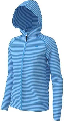 レディース T-body パーカー ブルー ASN-0404W BLU