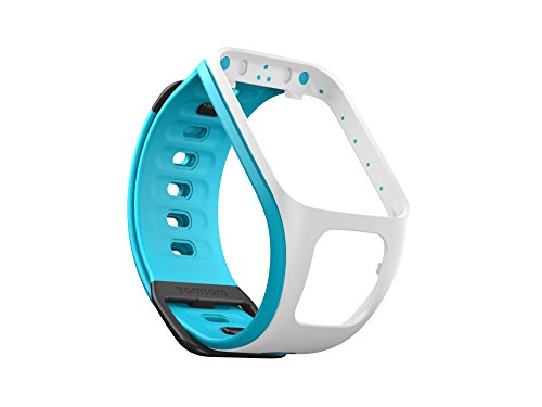 TomTom Fitness Tracker Accessory for TomTom Spark watches - White/Scuba Blue