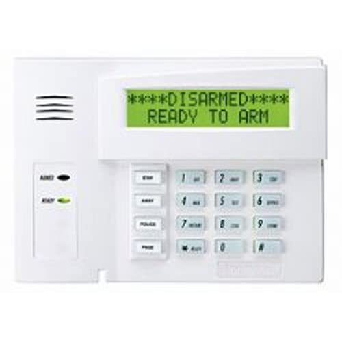 wired home alarm system amazon com
