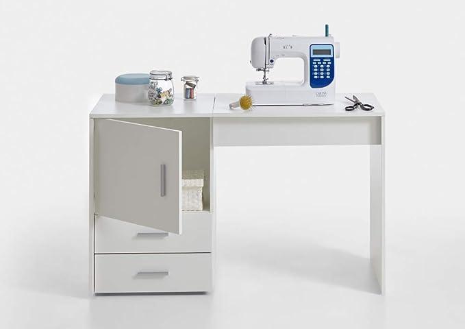 Beauty.Scouts - Mesa para máquina de Coser FD Fiola, Color Blanco ...