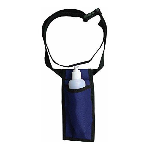 Single Adjustable Massage Oil/Lotion Holster - Blue