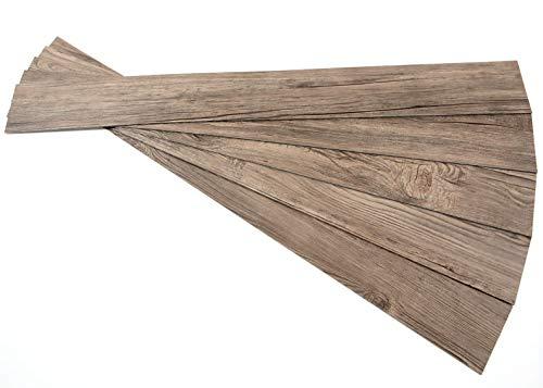 (ROSEROSA Peel and Stick Engineered PVC Plank Wood Pattern Durable Vinyl Flooring (ECK-804 : 5)