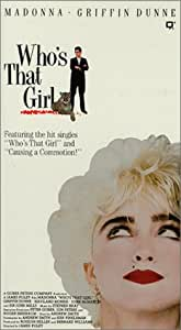 Who's That Girl [VHS]