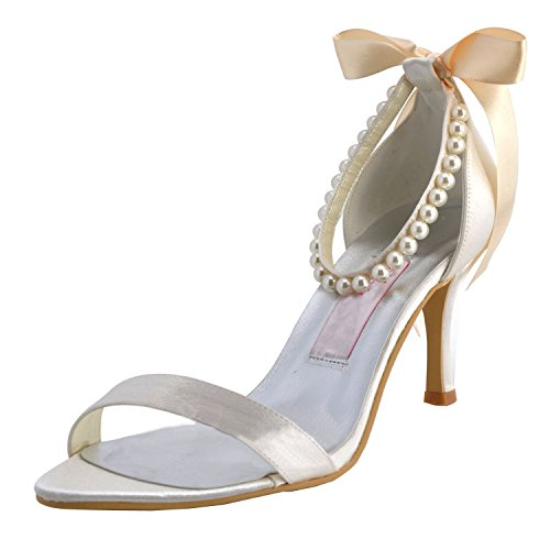 femme mariage de Chaussures tendance Blanc Kevin Fashion Xnw0xPEq