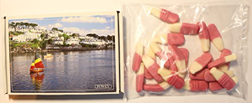 Ye Old Cornish Fowey Strawberry Milkshakes English Candy