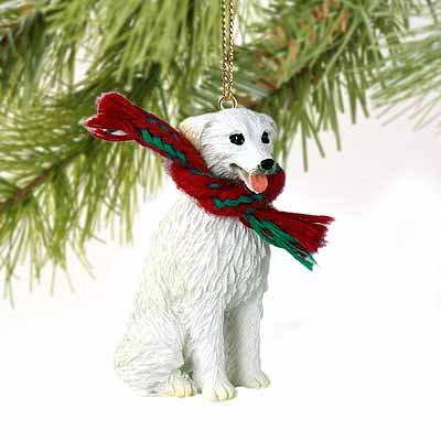 Kuvasz Miniature Dog Ornament