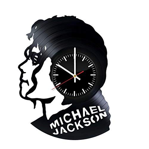 Michael Jackson Vinyl Record Wall Clock . Get unique home room wall art decor. Cool gift ideas for boys, girls, kids, teens, men and women.