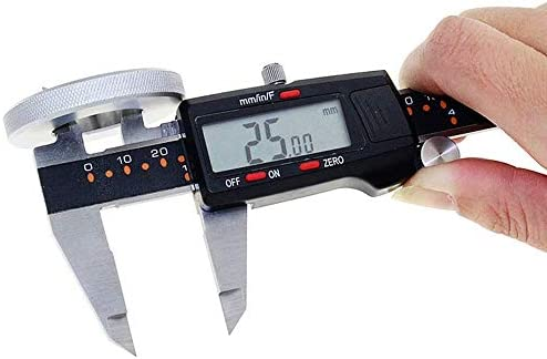 W-SHTAO L-WSWS Digital Vernier Caliper With Depth Bar MM/INCH/F 150mm/0.01 Precision Stainless Steel Digital Electronic Caliper (Size : 0-150mm) Digital Calipers