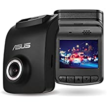 ASUS Reco Classic Dash Cam, Full HD 1080p, Night Time Record, 140˚ Wide-viewing, GPS track log, Advanced Driver Assistance Systems, Emergency Record File Protection, Easy Setup