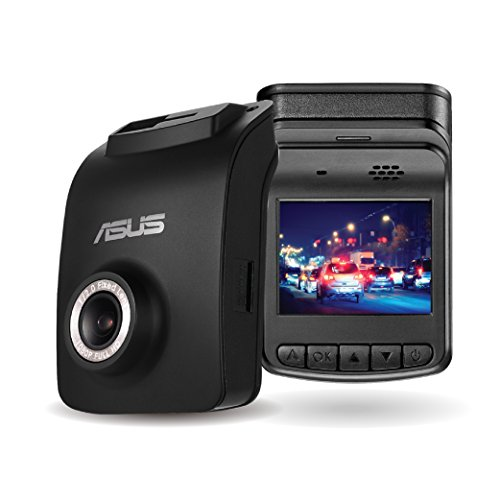 ASUS Reco Classic Dash Cam, Full HD 1080p, Night Time Record, 140˚ Wide-viewing, GPS track log, Advanced Driver Assistance Systems, Emergency Record File Protection, Easy Setup (Asus System)