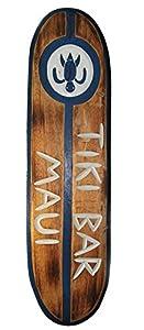 Surfboard 100cm Tiki Bar Dekoration zum Aufhängen Lounge Style
